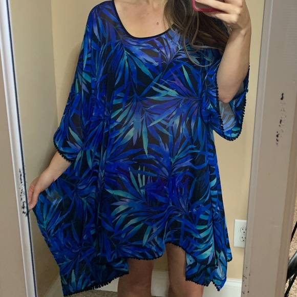 4f4e7b889db03 lands end Other - Lands End SwimSuit Coverup Small 6-8